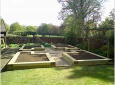 Raised Garden Layout Plans Sleepers Gardening Ideas