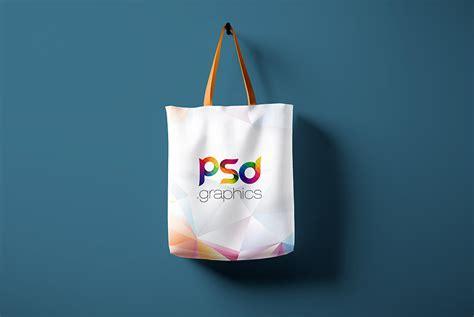 hanging tote bag mockup  psd psd graphics