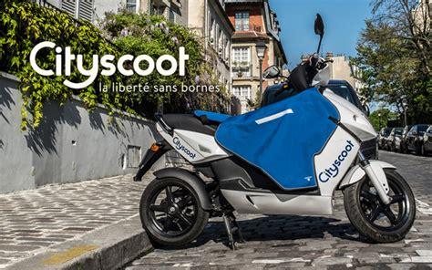 cityscoot les scooters parisiens  electriques mov