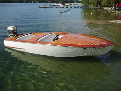 Runabout Boat Plans Free by Wood Runabout Plans Pdf Woodworking
