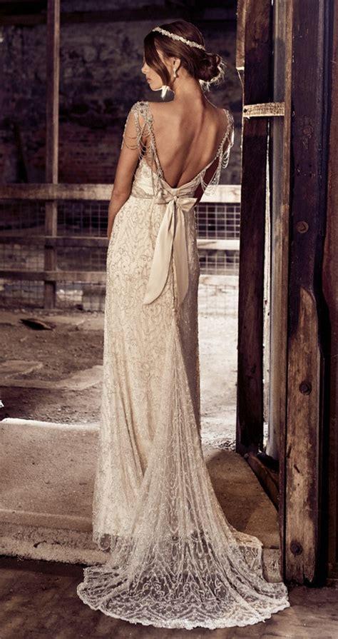 chloe anna campbell vintage  hollywood wedding dress