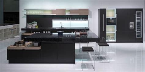id馥 cuisine originale cuisine moderne en noir et blanc 35 idées magnifiques