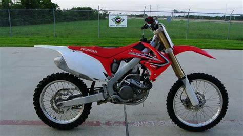 honda motocross bikes for sale 4 199 2011 honda crf250r motocross bike for sale youtube