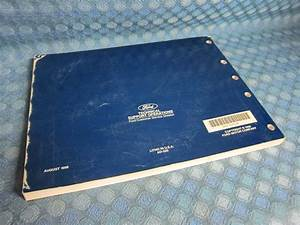 20ford Windstar Wiring Diagram Manual Original