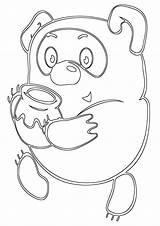 Honey Coloring Honey10 sketch template