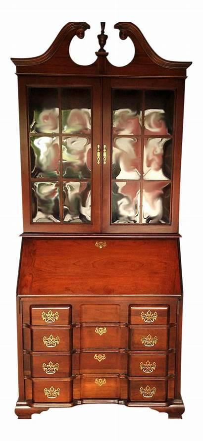 Secretary Jasper Desk Cabinet Mahogany Chairish