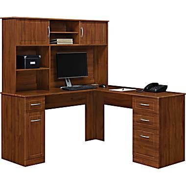 Staples Chadwick Corner Desk by L Shaped Desk Staples Home Office
