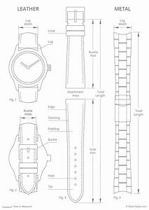How To Measure Leather And Metal Watch Bands