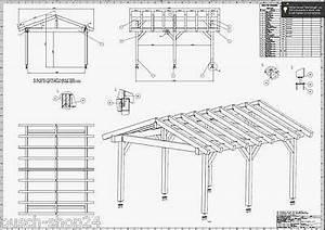 Doppelcarport Selber Bauen : bauplan baupl ne satteldach carport terrassendach ~ Lizthompson.info Haus und Dekorationen