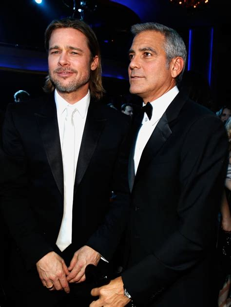 Brad Pitt and George Clooney Pictures at Critics' Choice ...