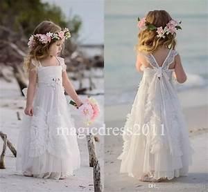 Simply Flower Girl Dresses For Beach Wedding - Wedding Ideas