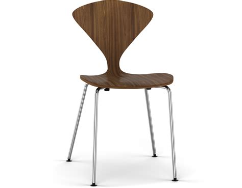 cherner dining chair cherner metal leg stacking side chair hivemodern com