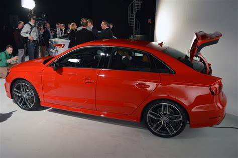 Audi S3 Sedan Boasts Sae 296 Hp, 0-60 In 4.7 Seconds
