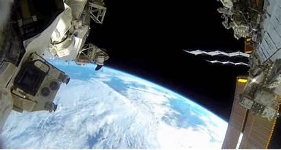 Space Astronauts Nasa Spacewalk Gopro Float Play