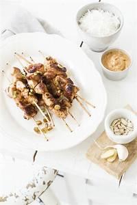 Spieße Selber Machen : h hnchensat spie e mit erdnusssauce rezept essen h hnchen fleisch und h hner ~ Watch28wear.com Haus und Dekorationen