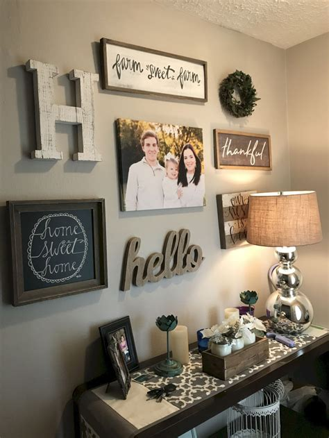 Brown color can help your living room become warm and comfy. 65 Awesome Rustic Farmhouse Living Room Decor Ideas | Farmhouse decor living room, Farm house ...