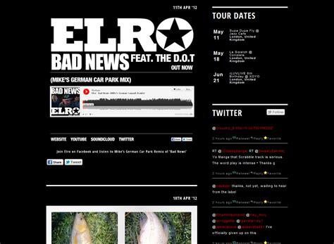 elro tumblr theme native noise paul harold almeida seele