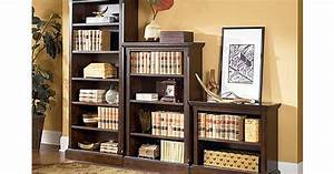 the porter large bookcase from ashley furniture homestore With ashley furniture home office collection