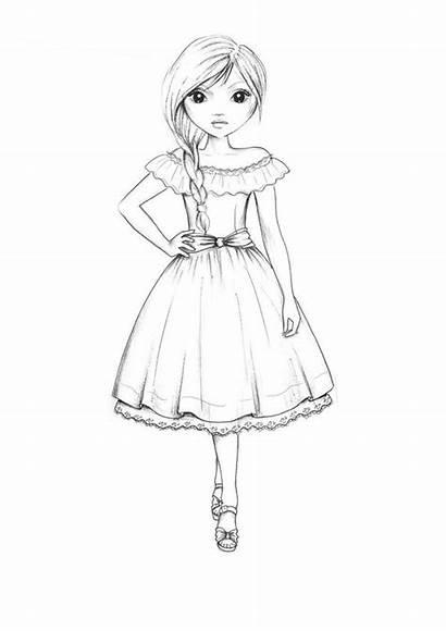 Drawing Topmodel Ausmalbilder Sketches Coloring Books Template