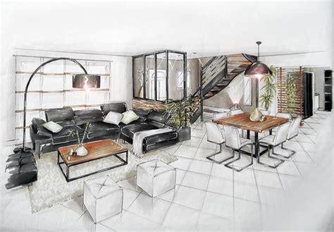 aménagement salon salle à manger cuisine réalisations aménagement et décoration d 39 un salon salle