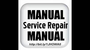 Suzuki Samurai Service Manual Download Free