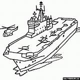 Carrier Aircraft Ship Battleship Coloring Drawing Navy Ww2 Sketch Mistral Assault Jet Template Thecolor Getdrawings Airplane Sheets Templates sketch template