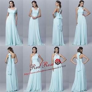 aliexpresscom buy 2015 mint green long 6 convertible With different styles of wedding dresses