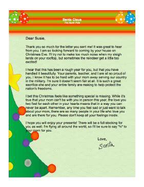 letter  santa  mother