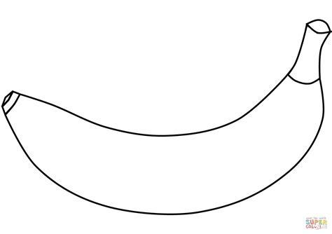 Banana Coloring Page - Eskayalitim