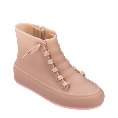melissa ulitsa sneaker high rosa fosco rosa neon li