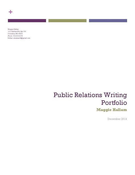 Pr Portfolio Template by 15 Best Relations Images On