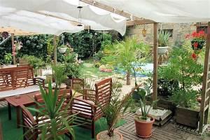 Decoration Jardin Terrasse : terrasses couvertes notre loft ~ Teatrodelosmanantiales.com Idées de Décoration