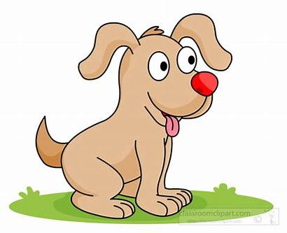 Clipart Clip Puppy Dogs Happy Smiling Dog
