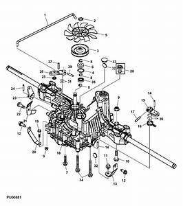 John Deere Transmission Am131580 For L120 L130