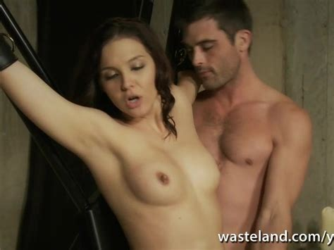 Master Gives Sexy Slave Intense Orgasms With His Vibrating