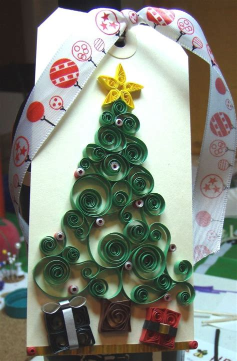 quilling paper craft ideas 2014 quilling tree paper craft card with ribbon 5306