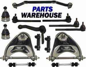 14 Pc Kit Front Upper Control Arm Ball Joints Inner