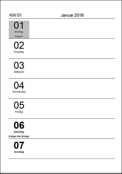 kostenlose kalendervorlagen  office lernencom
