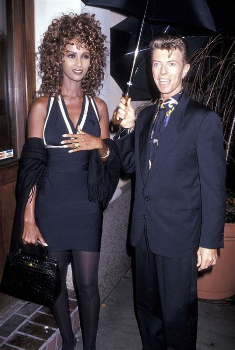 love story  iman  david bowie   years