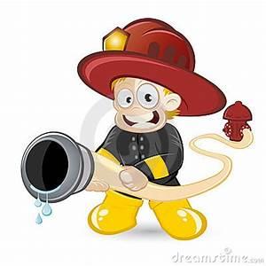 Cartoon Fireman Putting Out Fire | Clipart Panda - Free ...
