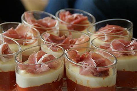 recette de verrines italiennes au parmesan