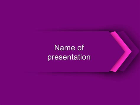 free downloadable powerpoint themes download free purple direction powerpoint template for