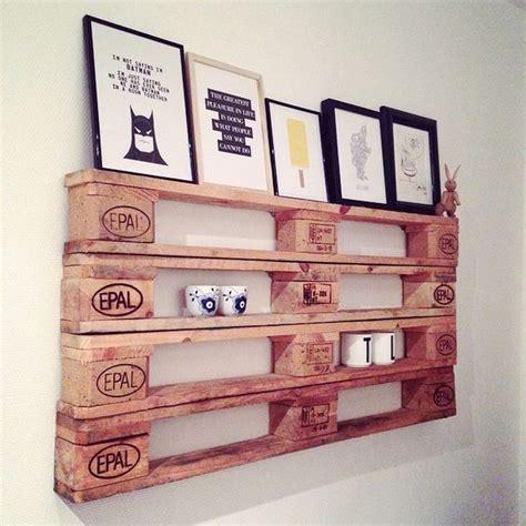petit meuble de rangement cuisine étagère en palette 19 idées originales à copier