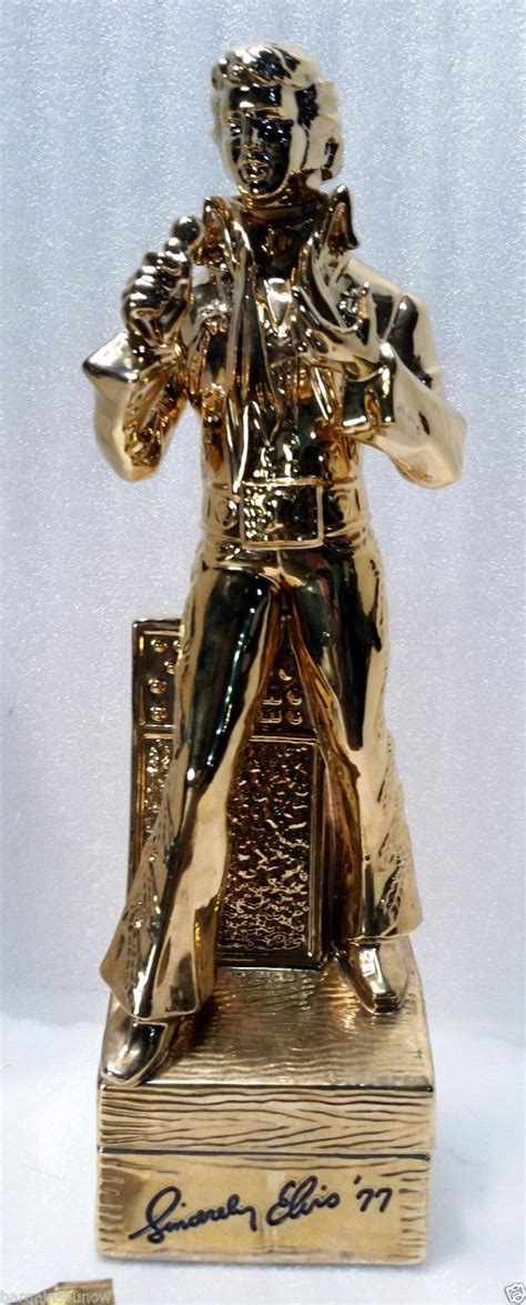 How Much Is A Brand New by How Much Is An Elvis 23 Karat Gold Decanter With