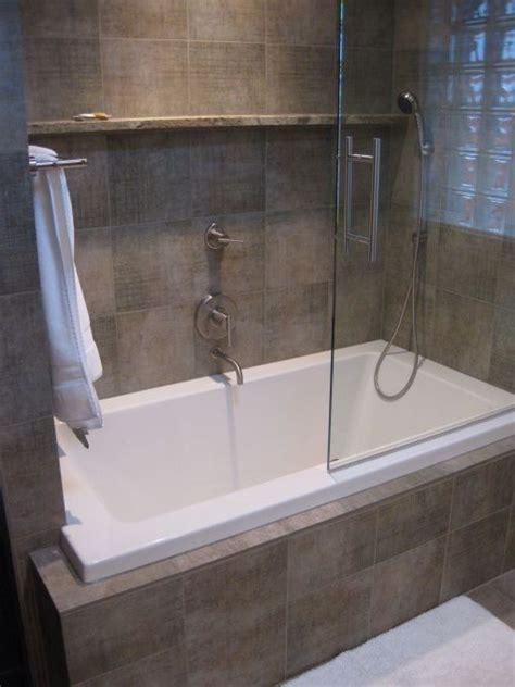 built  bath  shower bathroom ideas bathroom tub