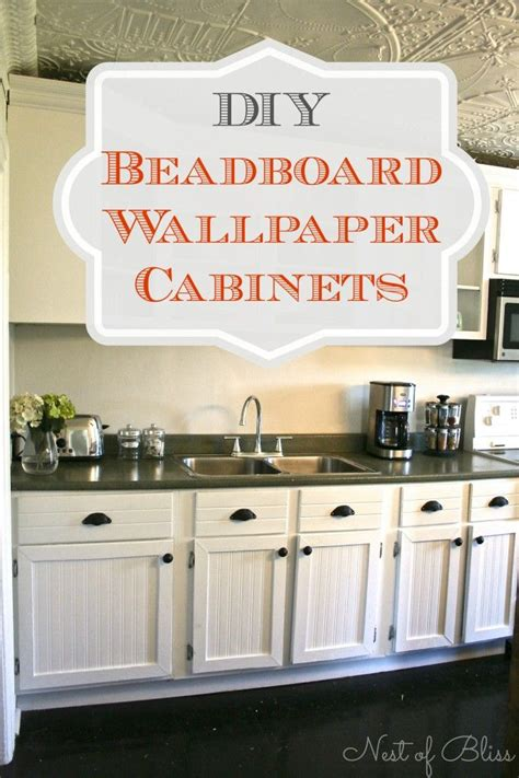 beadboard wallpaper kitchen cabinets 25 best ideas about wallpaper cabinets on 4377