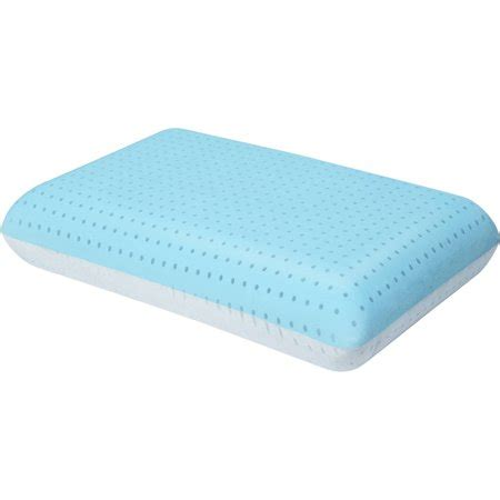 gel pillow walmart beautyrest thermaphase gel memory foam pillow with
