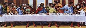 The gallery for --> Black Jesus Last Supper