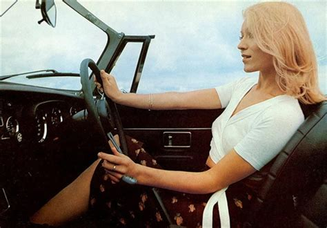 hot girls  classic car ads