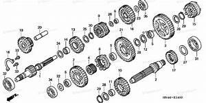 Honda Atv 2001 Oem Parts Diagram For Transmission